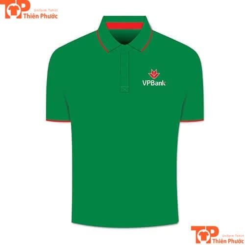áo thun đồng phục ngân hàng vpbank việt nam thịnh vượng