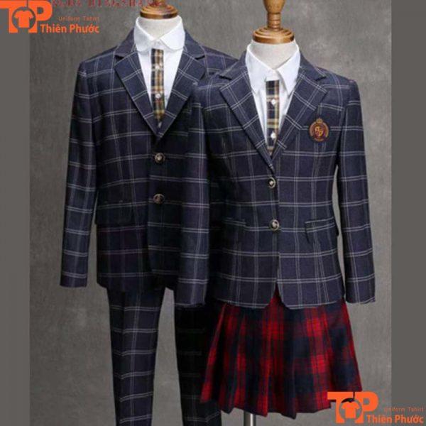 Bộ vest đồng phục học sinh trường quốc tế