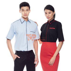 đồng phục cho nhân viên bán hàng đẹp