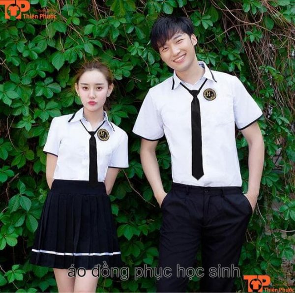 Đồng phục học sinh cấp 3 tphcm