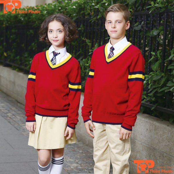 Đồng phục học sinh mùa đông trường cấp 2