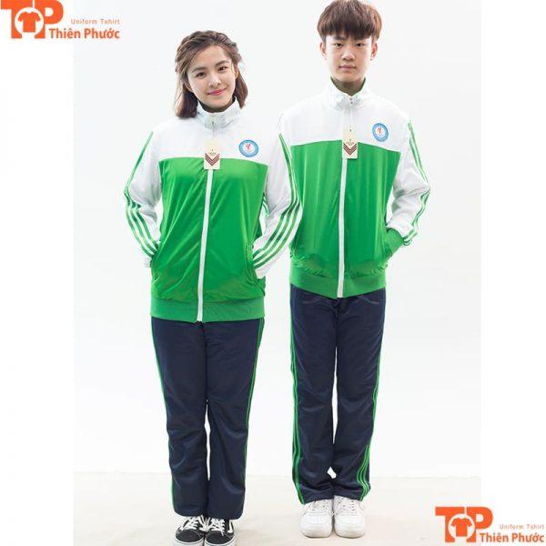 Đồng phục học sinh mùa đông trường cấp 3