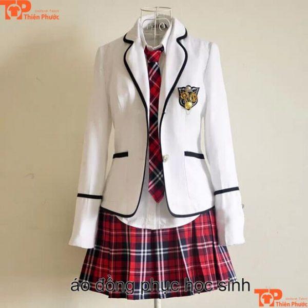 Đồng phục học sinh nữ thái lan