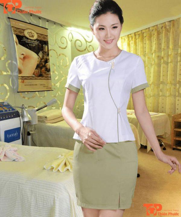 đồng phục nhân viên massage