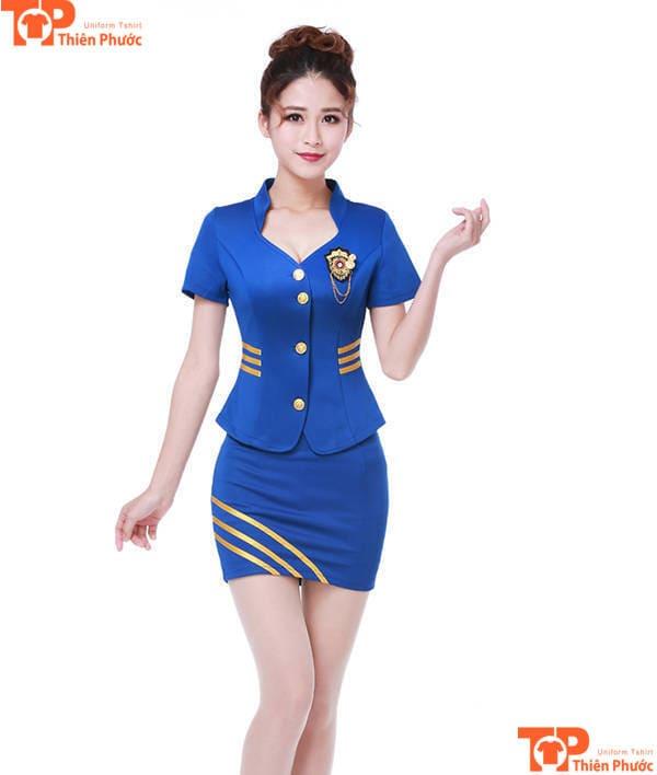 đồng phục pg đẹp quảng cáo