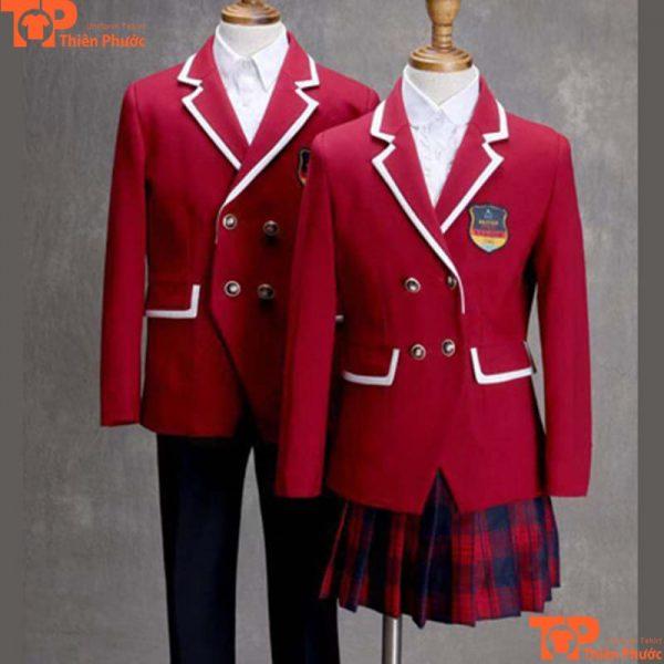 Mẫu áo đồng phục học sinh trường quốc tế cao cấp