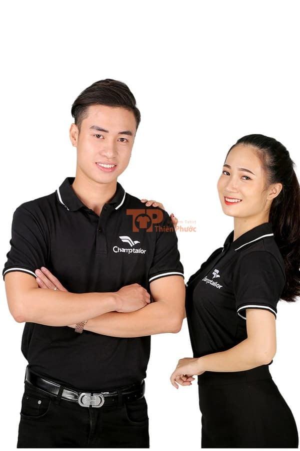 mẫu đồng phục bán hàng đẹp