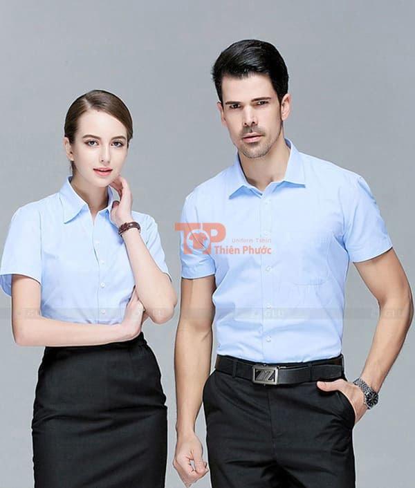mẫu đồng phục nhân viên bán hàng
