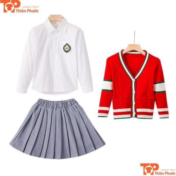 Set đồng phục học sinh mùa hè cho nữ