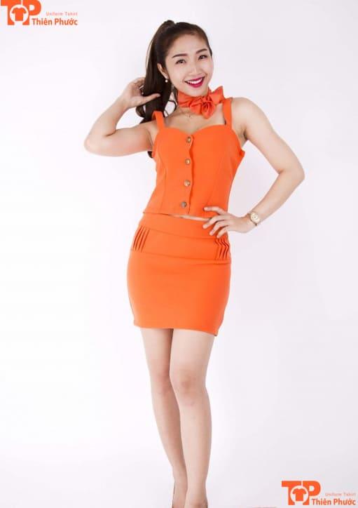 váy đồng phục pg đẹp