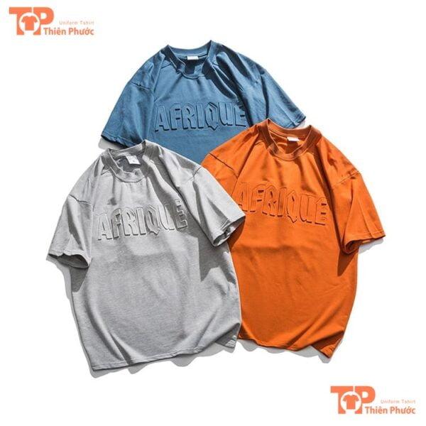 áo lớp 3d chất liệu 100% cotton