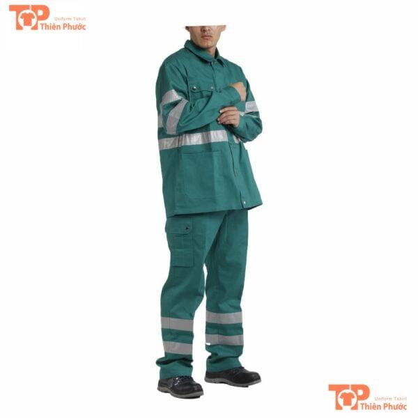 đồng phục lao công nam