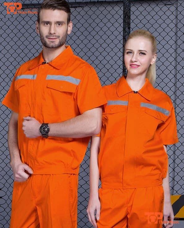đồng phục nhân viên vệ sinh cho nam nữ
