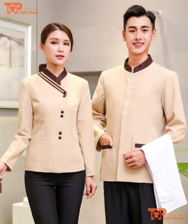 đồng phục tạp vụ khách sạn mẫu 02