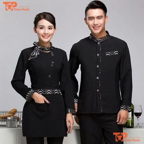 đồng phục tạp vụ nhà hàng mẫu 04