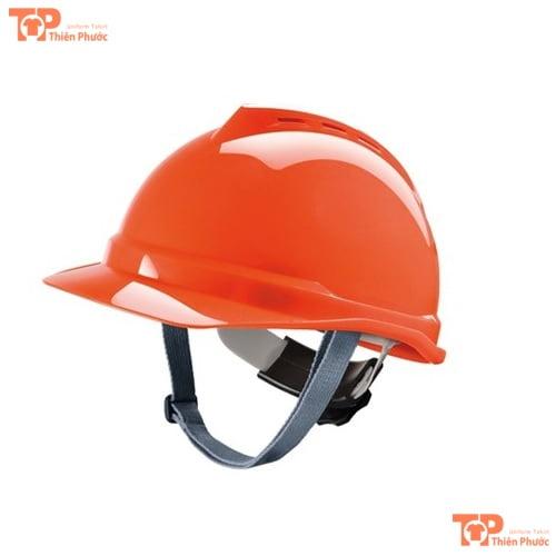 mũ bảo hộ lao động màu cam
