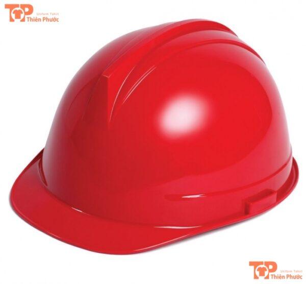 mũ bảo hộ lao động màu đỏ