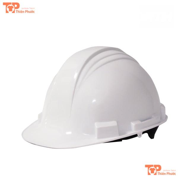 mũ bảo hộ lao động màu trắng