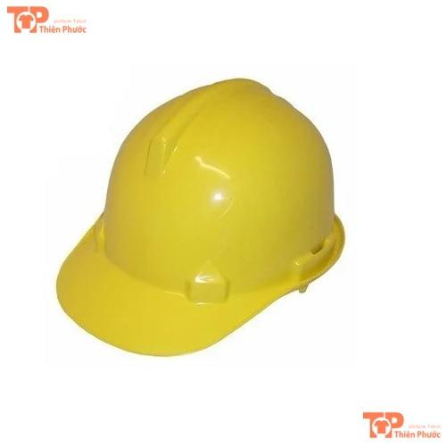 mũ bảo hộ lao động màu vàng