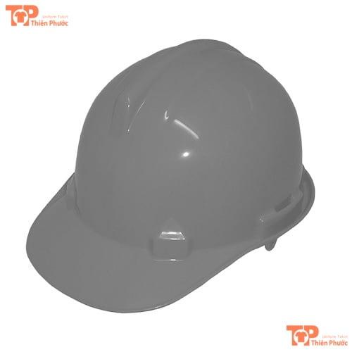 mũ bảo hộ lao động màu xám