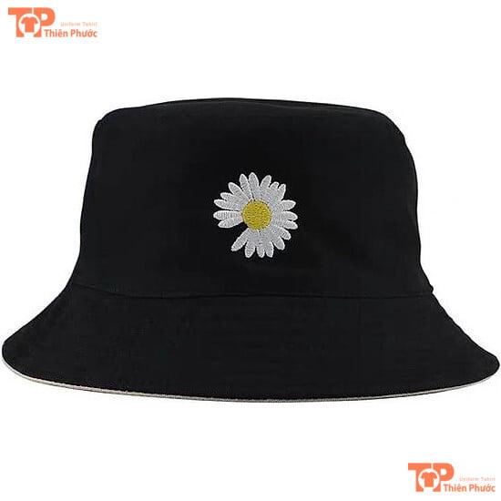 mũ bucket hoa cúc