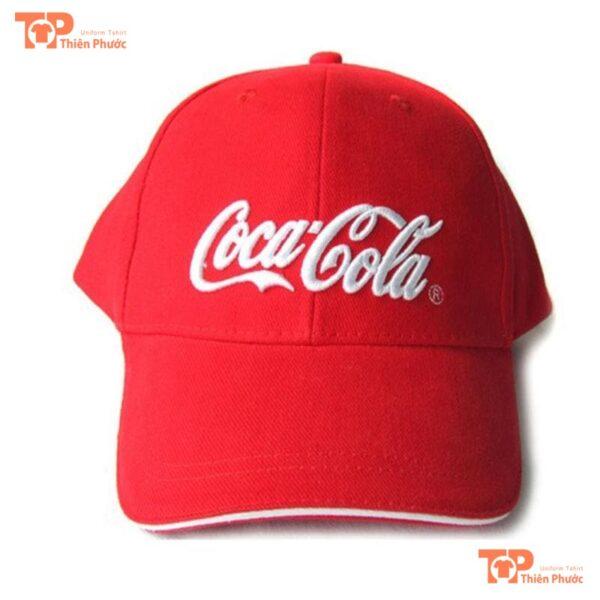 Mũ lưỡi trai quảng cáo Cocacola