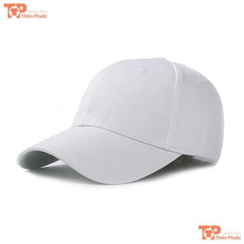 nón kết đồng phục màu trắng