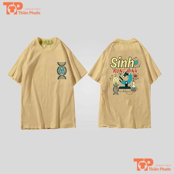 áo lớp oversize sinh rung rinh
