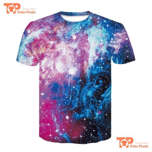 áo lớp phản quang galaxy 3D